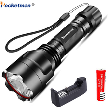 8000LM LED Flashlight Rechargeable Super Bright 5 Modes Multifunction Ultra Torch Linterna Household Outdoor Waterproof