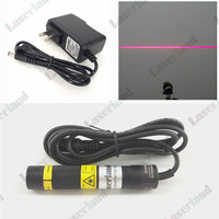 Laserland 16 88mm Focusable 50mW 648nm 650nm Red LINE Laser Diode Module PSU Glass Lens With