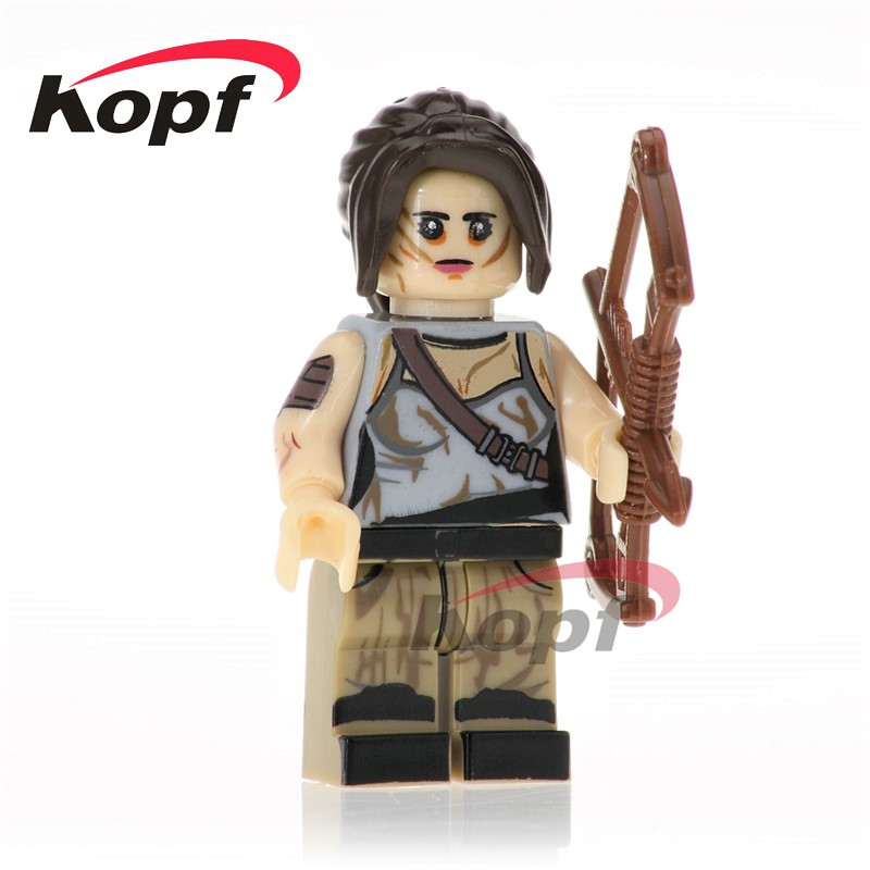 Super Heroes Single Sale Kill Bill Vol.1 The Bride Lara Croft Drake Building Blocks Bricks Birthday Toys for children KL070 саундтрек саундтрек kill bill vol 2