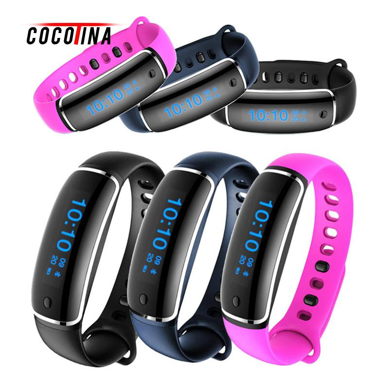 COCOTINA Hot Sale Heart Rate Fitness Tracker Smart Bracelet V8 Wristband Watch Sleep Monitor Health Monitor LSB01348 sports fitness tracker smart watch bracelet i7 bluetooth 4 0 wristband waterproof health heart rate monitor