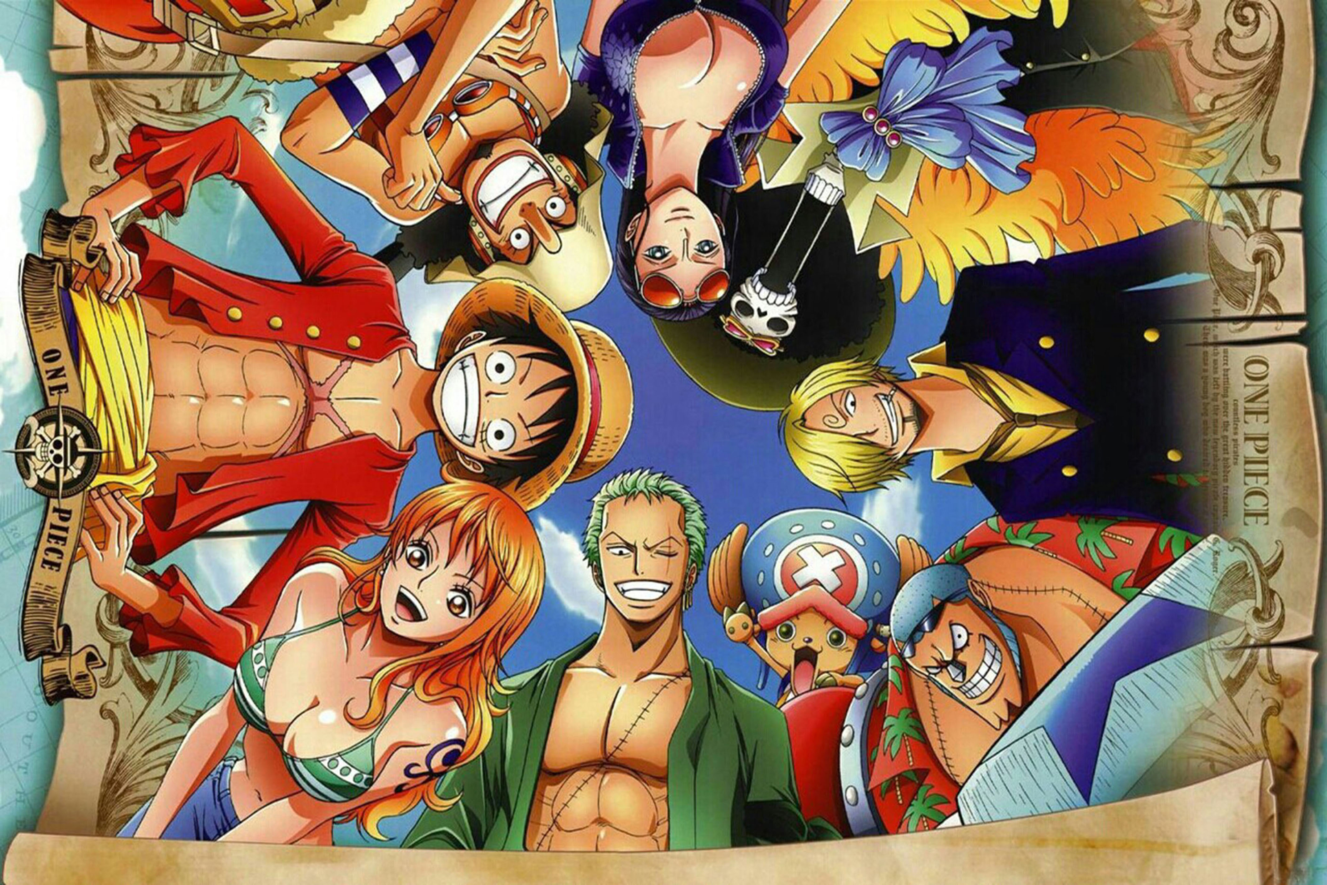 one piece animated - HD 1600×1045