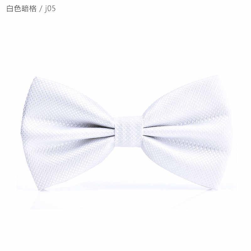 جديد نوعية جيدة شبكة ربطة العنق للرجال النساء مأدبة حفل زفاف العريس ربطة القوس فيونكة فراشة عقدة أسود أحمر أبيض رجالي بووتيس