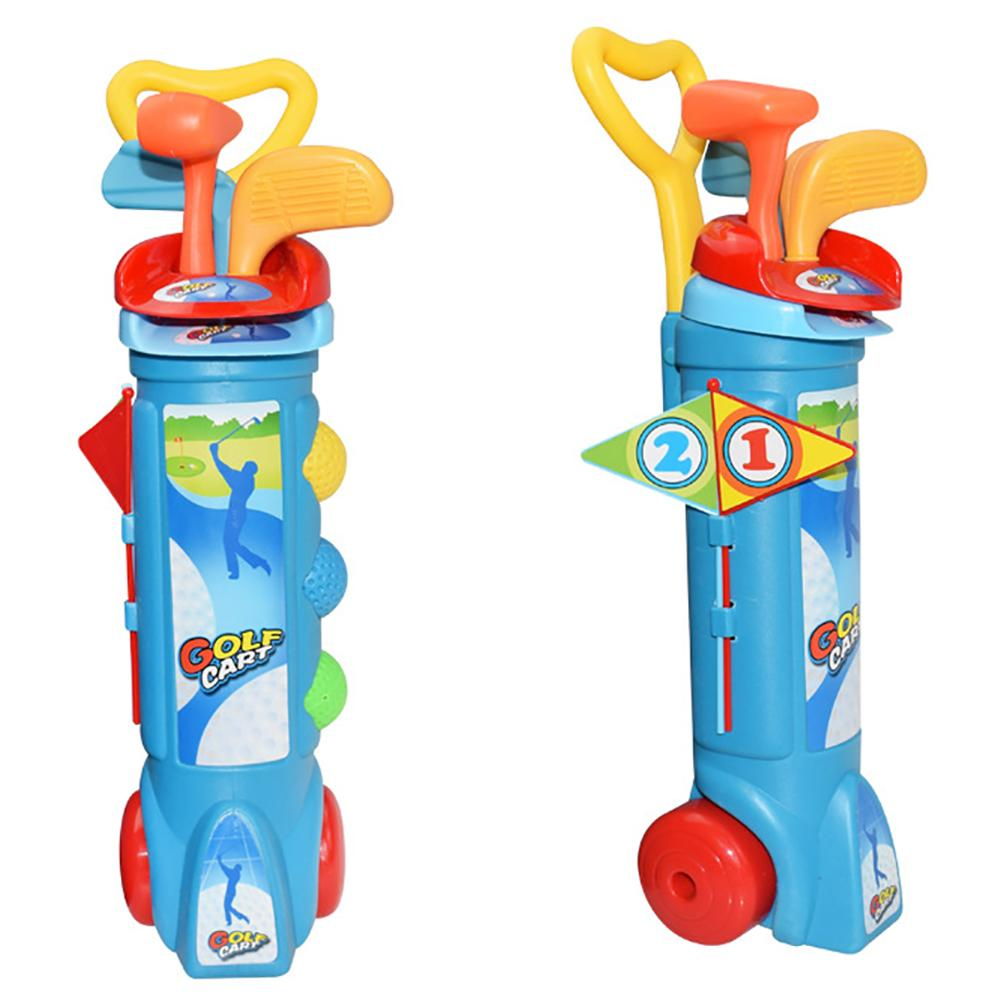Kids Golf Training Trainer Clubs Set Early Educational For Outdoor Sports Fitness Exercise Toy Kid And Parent Child Activities
