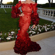 longues Chic Couture rouge