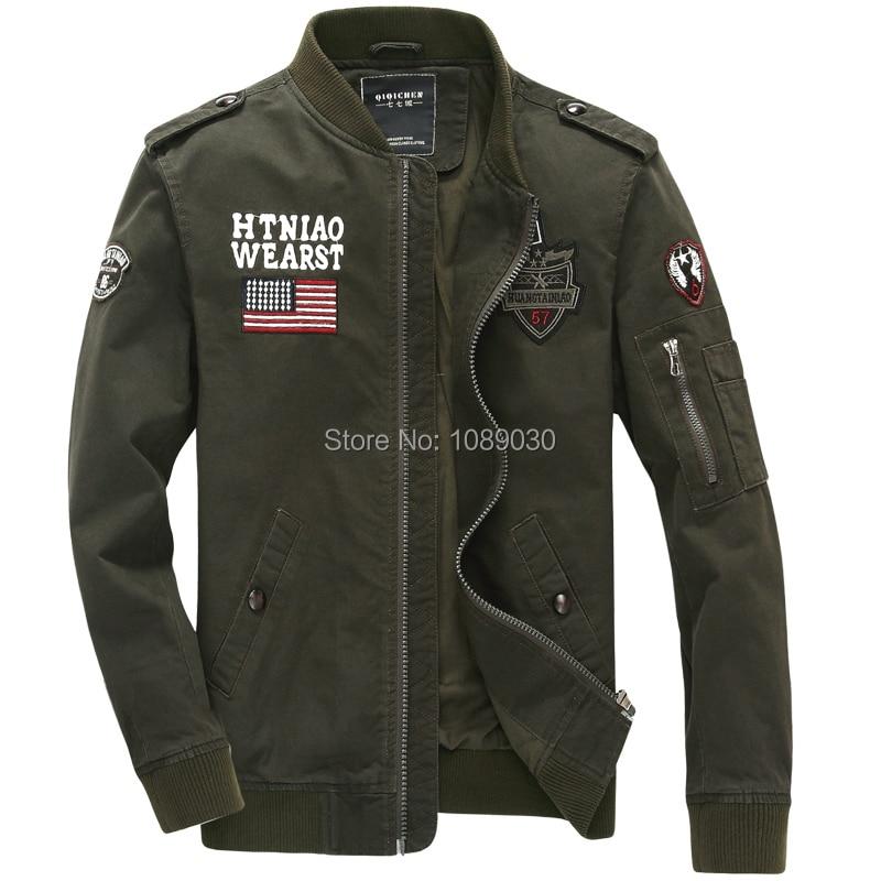 New Arrival Us Army Men Military Uniform Bomber Jacket Air Force Men's Chaquetas militare men 2015 jaquetas militares Jackets