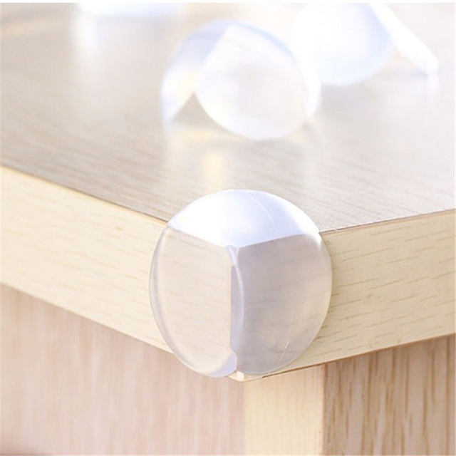 10Pcs Baby Safety Corner Guards Table Protector Edge Safety Products Protection Cover Child Safety Protector Silicone