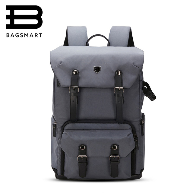 "BAGSMART Brand Backpack For Photo DSLR CANON Camera Bag NIKON Digital SLR Backpack Laptop 15.4"" with All Weather Cover Daypack"