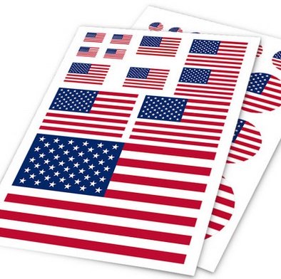 A4 usa flag car sticker motorcycle skateboard bike decal phone sticker in car stickers from automobiles motorcycles on aliexpress com alibaba group