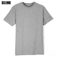 EU Size 2017 Summer Fashion Brand Clothing Tshirt Men Solid Color Short Sleeve T Shirt Men