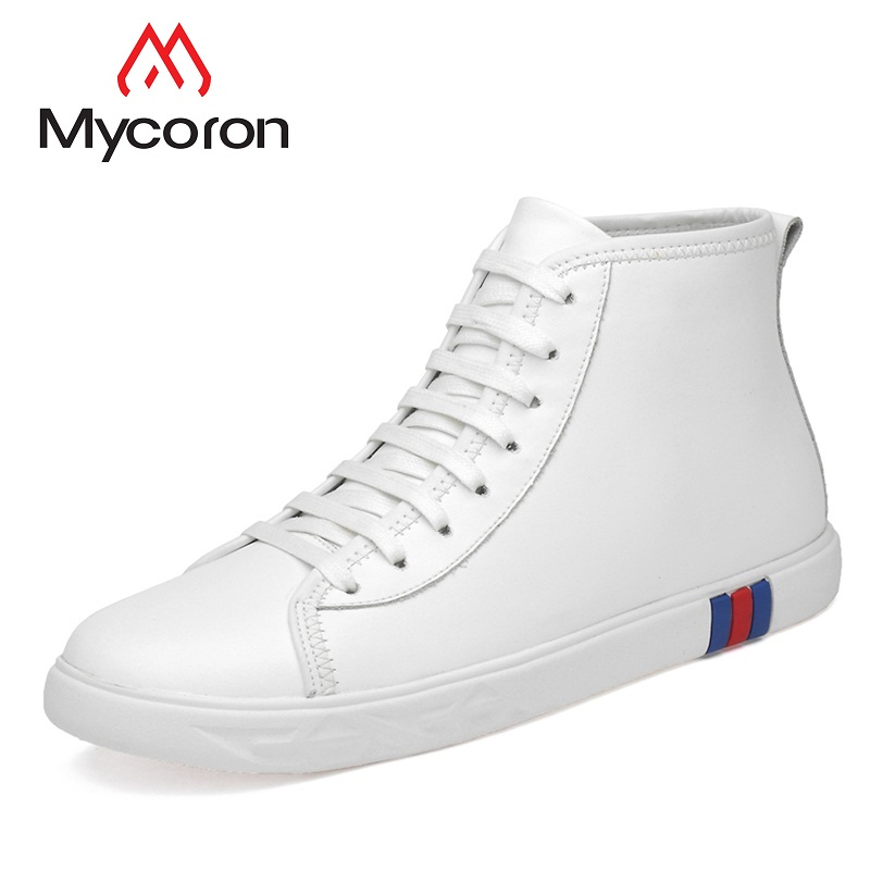 MYCORON Spring And Autumn Men Shoes Comfortable Quality Handmade Shoes Men New Casual Shoes Breathable Mens Sports Shoes high quality men golf shoes men spring and autumn breathable men shoes 5 colors professional training shoes