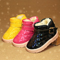 New boys & girls snow winter boots ankle children shoes flats breathable sneakers martin booties for kids