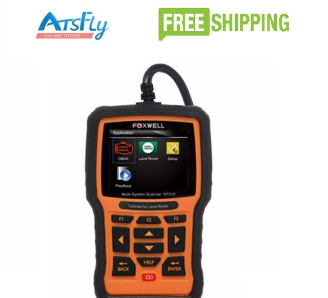 FOXWELL NT510 OBD OBDI OBDII Car Diagnostic Scan Tool Multi-system Scanner Code Reader Scanner Read and Clear Trouble Codes