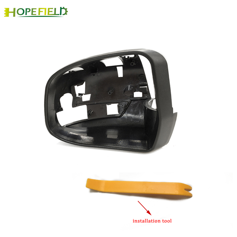 car accessories outside rearview <font><b>mirror</b></font> cover <font><b>mirror</b></font> protector frame shell for <font><b>ford</b></font> <font><b>focus</b></font> <font><b>mk3</b></font> 2012-2017 image