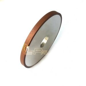 Image 2 - Meule Abrasive de diamant plat de 150*10*32*4mm pour le meulage de Jade CBN de verre en céramique dacier allié