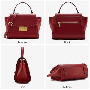 Image 4 - ラ festin 高級デザイナーハンドバッグ 2018 新牛革ハンドバッグショルダーバッグメッセンジャーバッグ女性ボルサの feminina