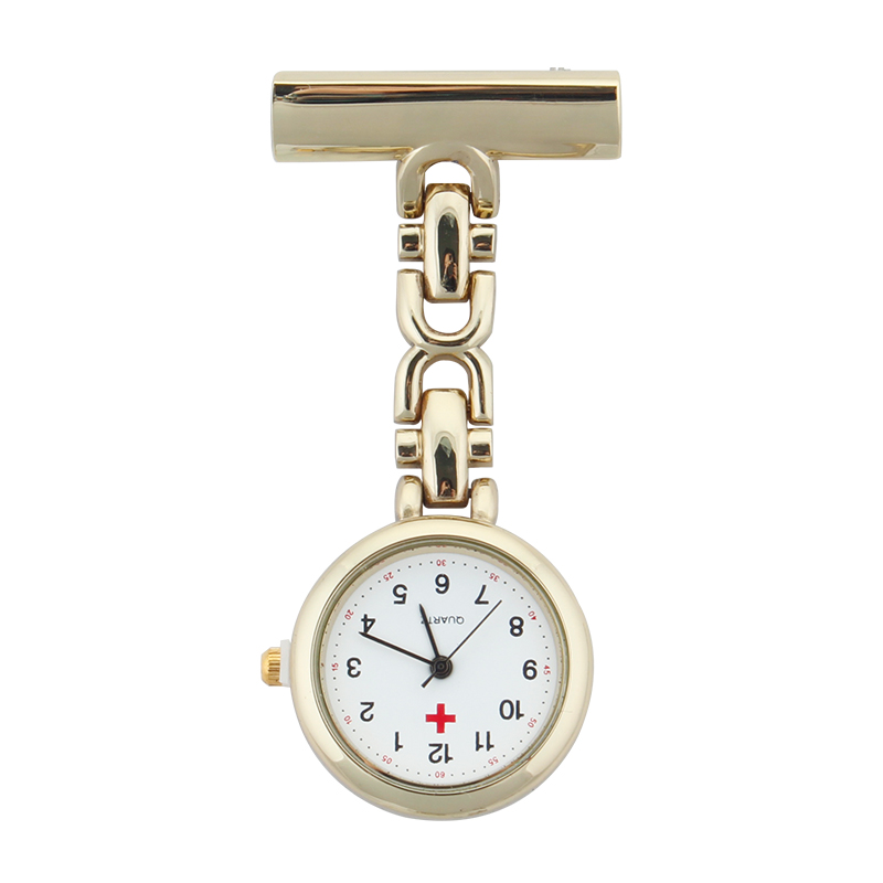 ALK VISION Nurse Watch Fob Nurse Pocket Watch Doctor 2018 Top Brand Quartz Brooch Medical Watch Pendants Gold Silver