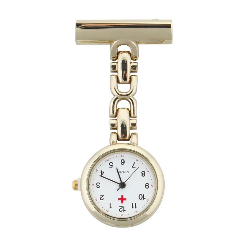 ALK VISION Nurse Watch Fob Nurse Pocket Watch Doctor 2018 Top Brand Quartz Brooch Medical Watch Pendants Gold Silver