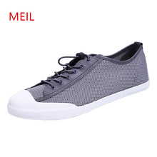 2018 Summer Mens Casual Breathable Mesh Shoes Men Loafers Fashion Trainers Espadrilles Tenis Masculino for