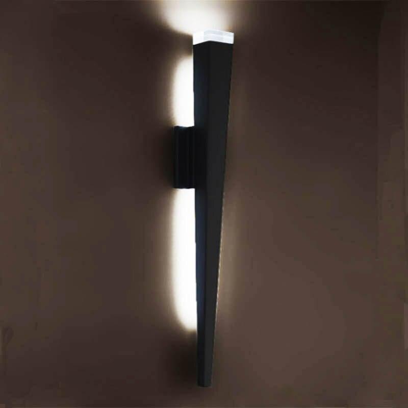 Applique murale Trangle Tube torche Design lumières LED applique lumière couloir café intérieur Up lumière 5 W Dimmable STYLE personnalisé