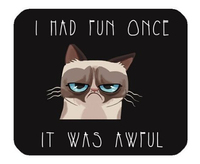 Free Shipping 2015 New Design Custom Doormats Bedroom Funny Grumpy Cat Coussin Carpets Bathroom Cartoon Rugs