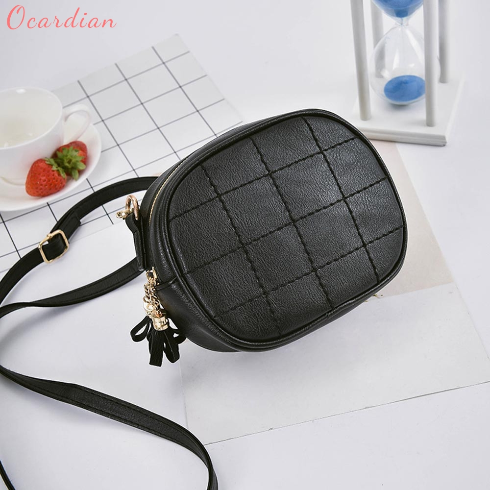 OCARDIAN High quality women bag bolsa feminina Fashion Women Leather Handbag Crossbody Shoulder Messenger Phone Coin Bag 170322