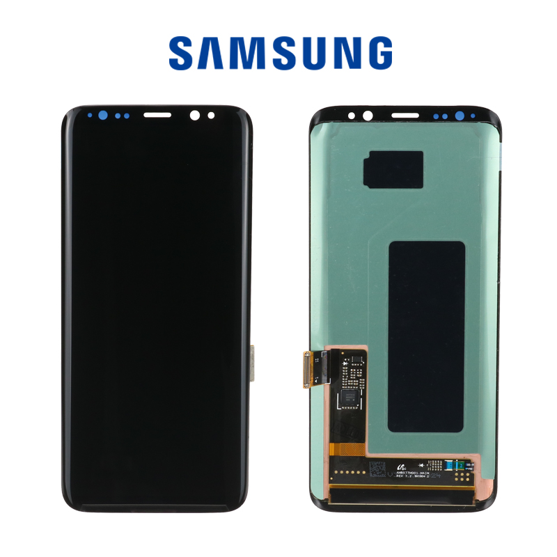 HTB1zr9hNSzqK1RjSZFLq6An2XXaP Original LCD For Samsung Galaxy S8  G950 G950F  Burn-in Shadow Lcd Display With Touch Screen Digitize