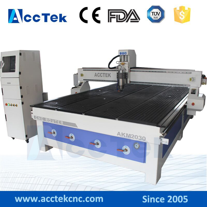 China 4 Axis Wood Cnc Router Engraving Machine Cnc 2030
