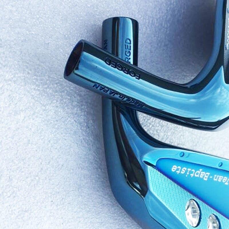 Cooyute 2018 Golf head Set Jean Baptiste Saint Germain cavity blue color golf iron head forged carbon steel CNC irons wood iron