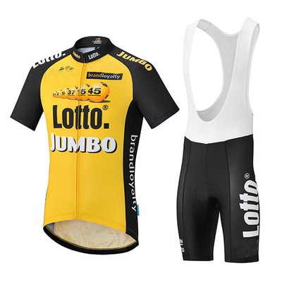 2017 LOTTO JUMBO PRO TEAM YELLOW SHORT SLEEVE CYCLING JERSEY SUMMER CYCLING WEAR ROPA CICLISMO+ BIB SHORTS 3D GEL PAD SET polyester summer breathable cycling jerseys pro team italia short sleeve bike clothing mtb ropa ciclismo bicycle maillot gel pad