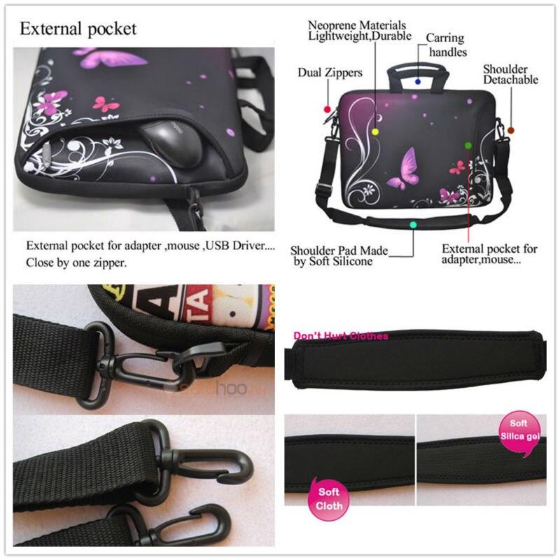 17 16 17 17.3 Laptop Shoulder Bag Messenger Case For HP Pavilion DV7 Dell Samsung Thinkpad