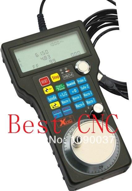free shipping CNC Mach3 USB Hand Wheel 4 Axis USB HandWheel Pulse 50PPR Optical Encoder Generator MPG Pendant