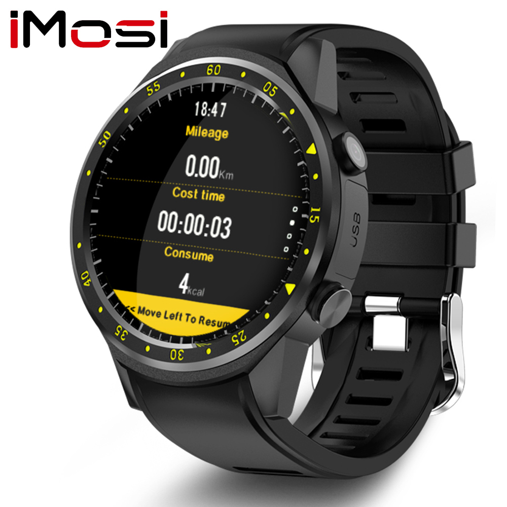 Imosi F1 Sport Smart Watch with GPS Camera Support Stopwatch Bluetooth Smartwatch SIM Card Wristwatch for Android IOS Phone image