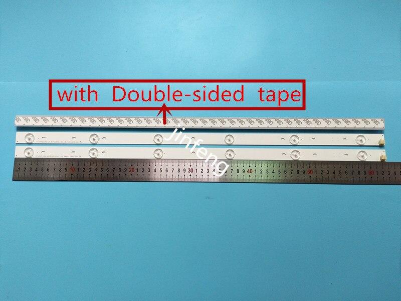 """Zestaw 15 sztuk 6 diody LED 627mm podświetlenie LED taśmy do Toshiba 32 """"telewizor z dostępem do kanałów SVT320AF5 32P1300 32P1400 32P1400VT 32P1400VE 32P1400D 32P2400VT w Kable i złącza do komputera od Komputer i biuro na AliExpress - 11.11_Double 11Singles' Day 1"""