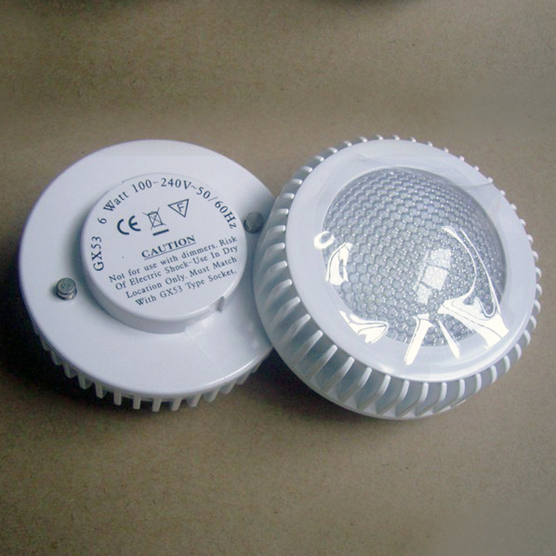 ac100 240 v input 5 w gx53 base led kast lamp voor verlichting