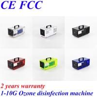 Pinuslongaeva CE EMC LVD FCC 10g/h 10grams D1 acrylic shell ozone machine ozone water sterilizer in home equipment ozonator