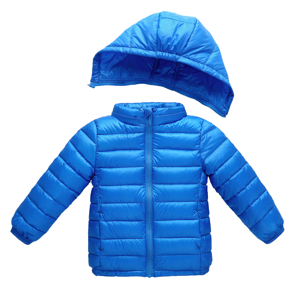 Baby Jackets Boys Girls Winter Down Coat 2017 Children Winter Coat Kids Thin Warm Outerwear Detachable Hooded Coat for 1-8 years 2016 new winter baby boys girls hooded down coat kids solid thick warm jackets children clothes outwear 1 4 years old