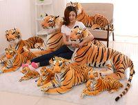 30 cm/40 cm/50 cm lengte tijger knuffel, simulatie tijger pop, tijger kussen kinderen dag verjaardagscadeau