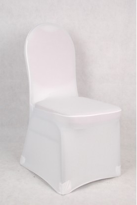 100pcs Dining Room Spandex Chair Covers Red Black Green Purple Silver Gold Blue Pink Brown Flat