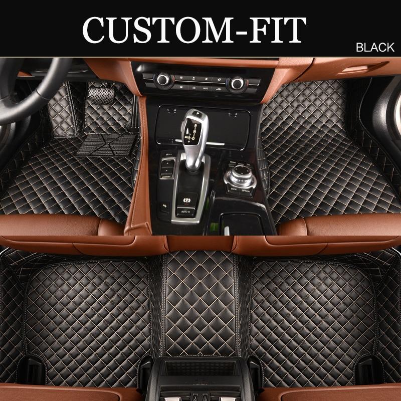 Custom fit car floor mats for Infiniti QX56 QX80 QX70 FX35 FX37 QX50 EX25 EX35 Q50 Q70 Q70L G25 G35 M25 M35 5D car-styling rugs