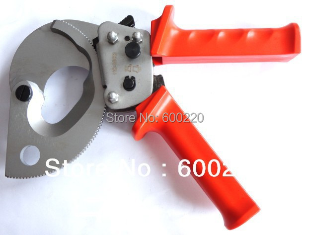 Ratchet Cable Cutter HS-300B, cable cutting tool for Copper Aluminum cables 300mm2 max best price mgehr1212 2 slot cutter external grooving tool holder turning tool no insert hot sale brand new