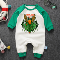 Cute Cartoon Dragon Ball Baby Rompers For Babies Boys Girls Clothes Newborn Clothing Brands Jumpsuit Infant