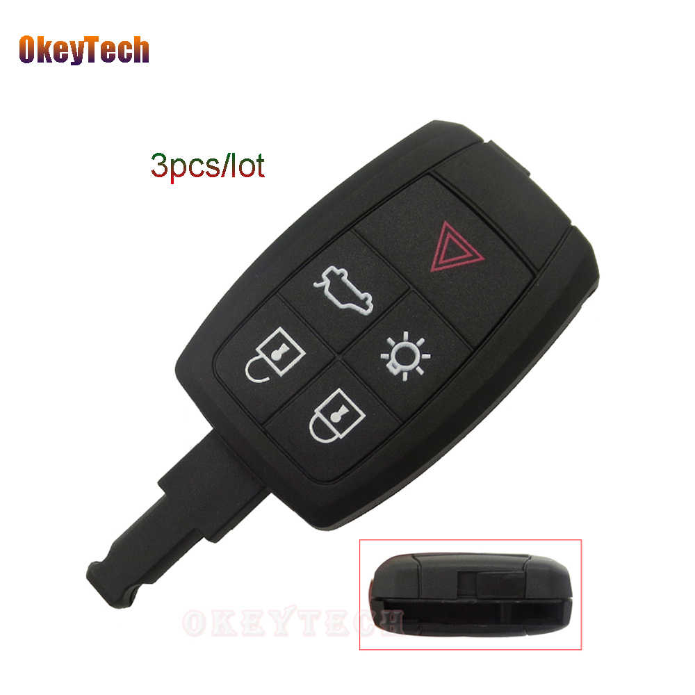 detail feedback questions about okeytech for volvo xc90 c70 s60 d5okeytech 3pcs lot for volvo xc90 c70 s60 d5 v50 s40 c30 4 1