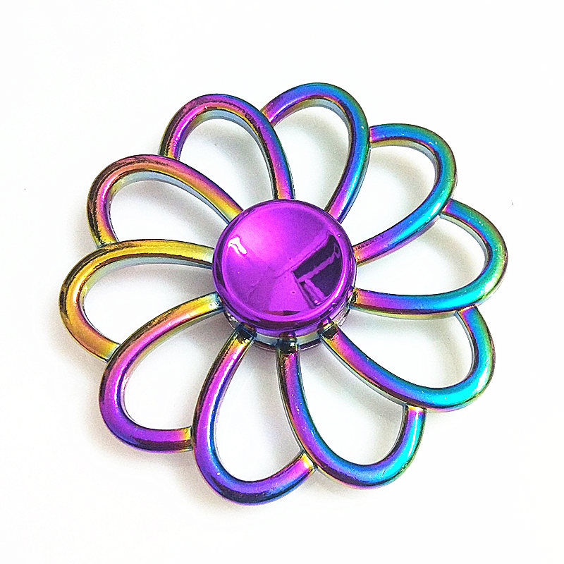 030 High Quality Fidget Spinner Metal Rainbow Dragon Hand Finger Spinners Autism ADHD Focus Anxiety Relief Stress