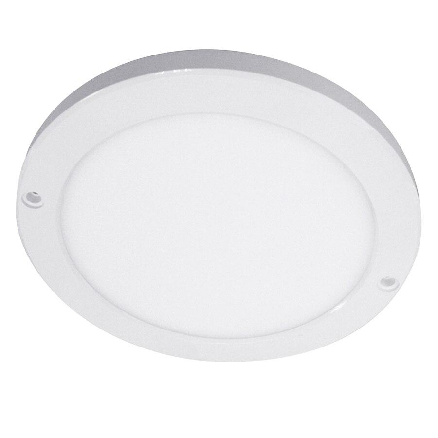 Светодиодный панельный светильник 18 Вт поверхностного монтажа круглый Квадратный светодиодный светильник AC200 240V IP40