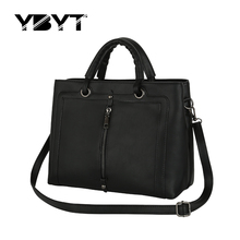 vintage zipper decorative medium font b handbags b font high quality font b women b font