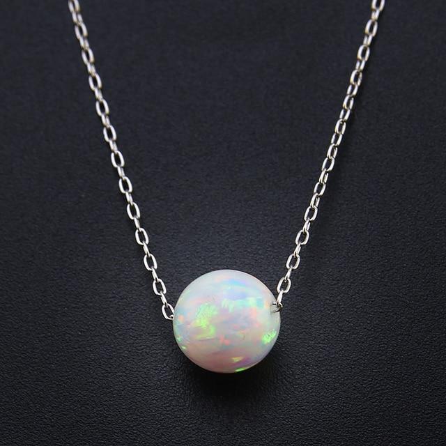 opaal ketting