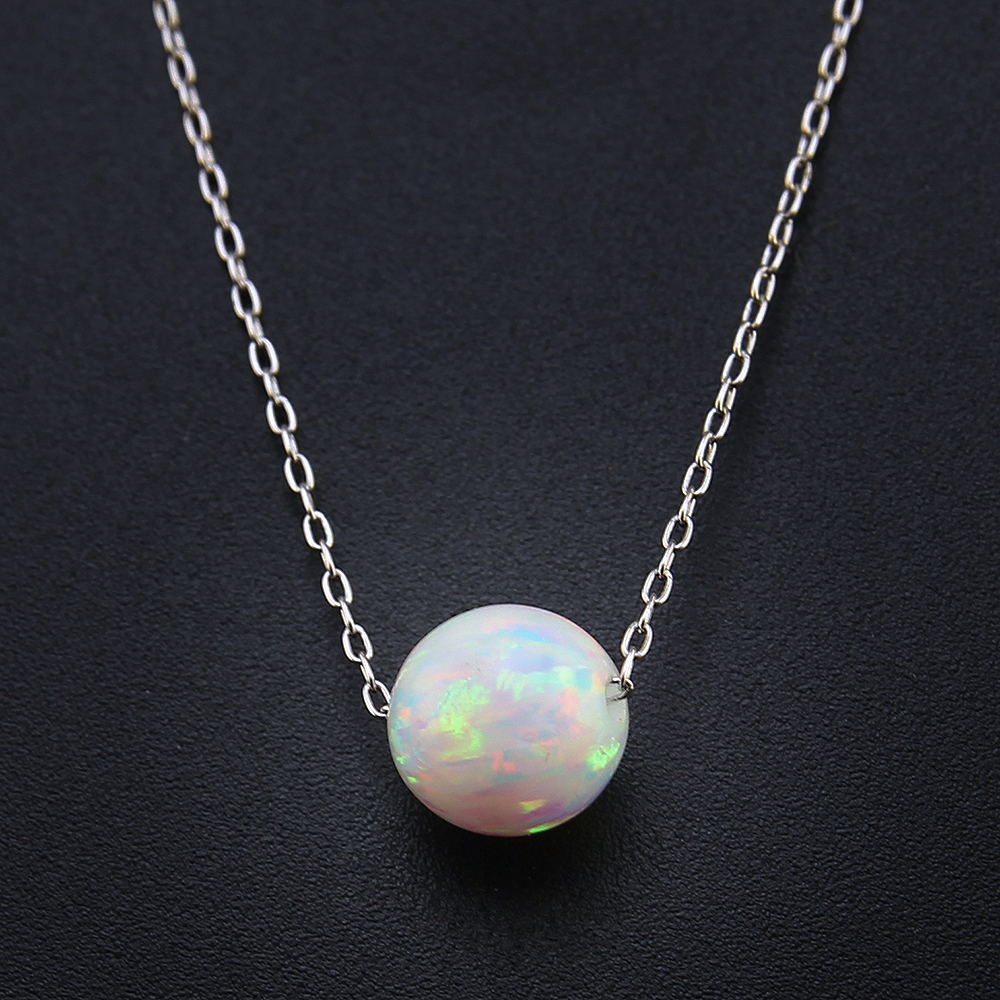 opal and fire product pendant silver lisa sterling stephanie