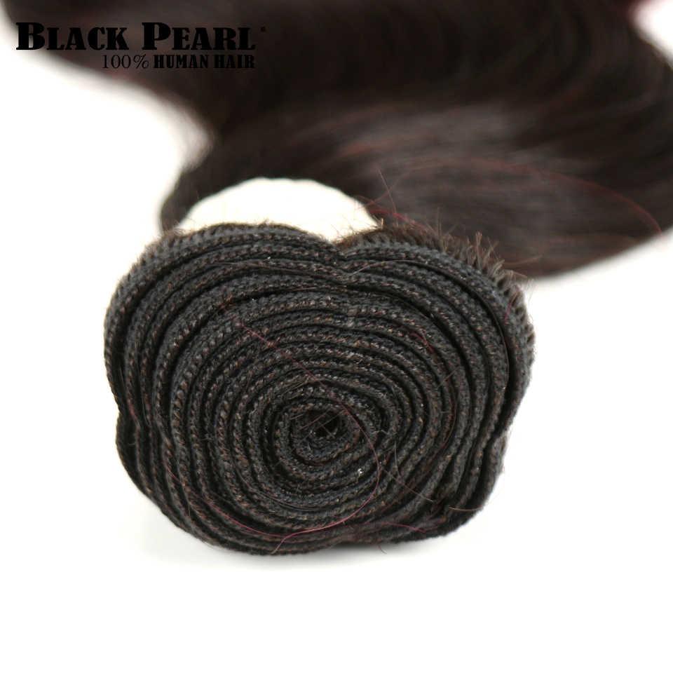 Perla Negro brasileño de la onda del cuerpo de la armadura del pelo humano de Ombre paquetes Ombre extensión del pelo 1/3 piezas no Remy paquetes de pelo 1b/99j