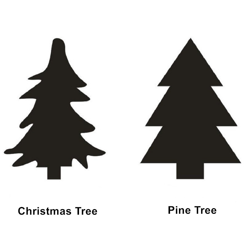 40pcs/set Christmas Tree Pine Tree Sticker Kids DIY Bedroom Decoration Kids Christmas De ...