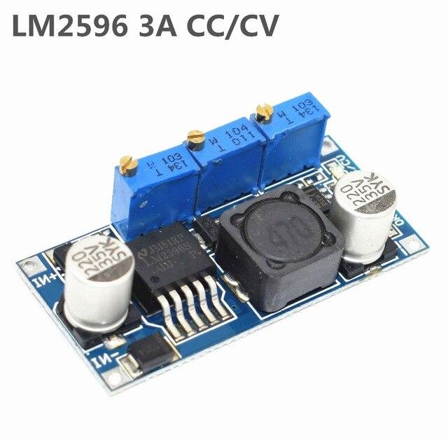 LM2596 светодиодный драйвер DC-DC понижающий Регулируемая CC/CV Питание модульная батарея Зарядное устройство Регулируемый LM2596S постоянного тока